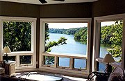 The Galena Lake House Sun Room
