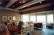 The Galena Lake House Dining Room and Sun Room