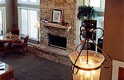 The Galena Lake House Fireplace