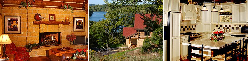 The Cottage on Lake Galena Photo Gallery - Galena Illinois Private Rental Cottage