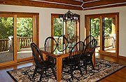 The Cottage on Lake Galena Dining Room