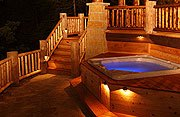 The Cottage on Lake Galena Outdoor Hot Tub