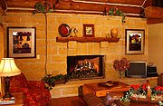 The Cottage on Lake Galena Living Room