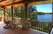 The Cottage on Lake Galena main deck