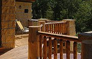 The Cottage on Lake Galena Open Deck